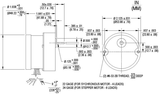 AS, ABS Geared Permanent Magnet DC Stepper Motors