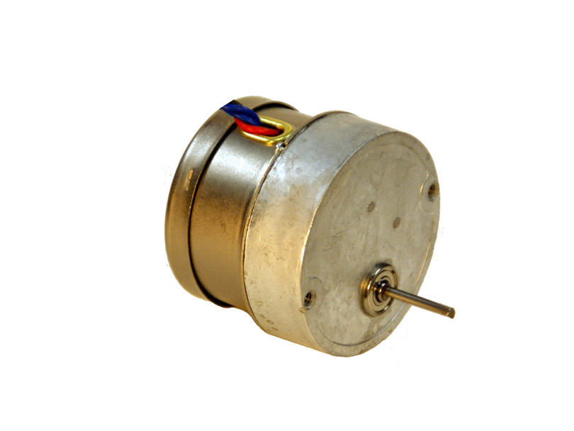 Round Shaped Gear Mounting For Synchronous Stepper Motors