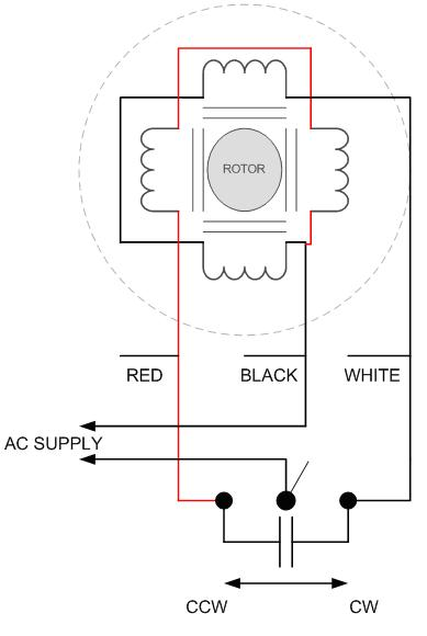 DA_DB_Conn_Diagram ga geared reversible hysteresis ac synchronous motors synchronous motor wiring diagram at crackthecode.co