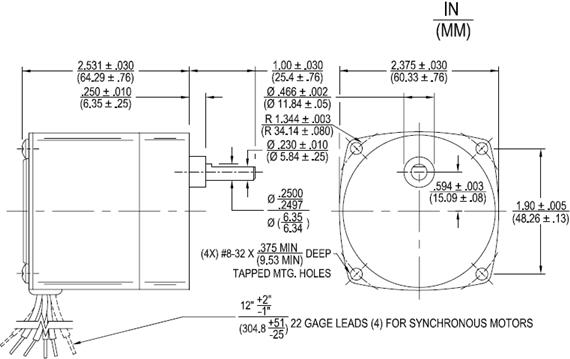 T, TA Geared Permanent Magnet AC Synchronous Motors Nidec Motor Corp Wiring Diagrams on